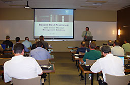 Attendees received BICSI credits for training