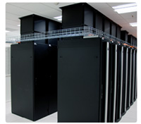 Data Center With TeraFrame Cabinets