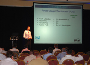 Ian Cathcart Presents at BICSI