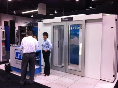 CPI Booth during 2012 BICSI Fall Conference