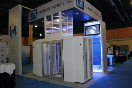 CPI's 2012 Booth Display feat. Aisle Containment