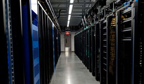 Facebook photo of data center