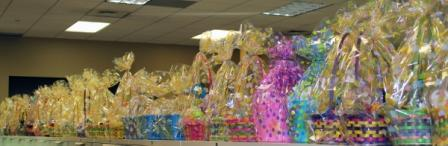 Easter baskets for CPI fundraiser