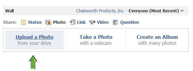 Steps to Upload Photo on Facebook