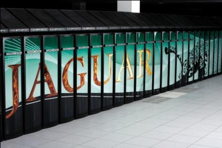 Jaguar supercomputer based in the U.S.