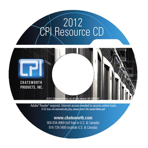 2012 CPI Product Catalog CD Cover