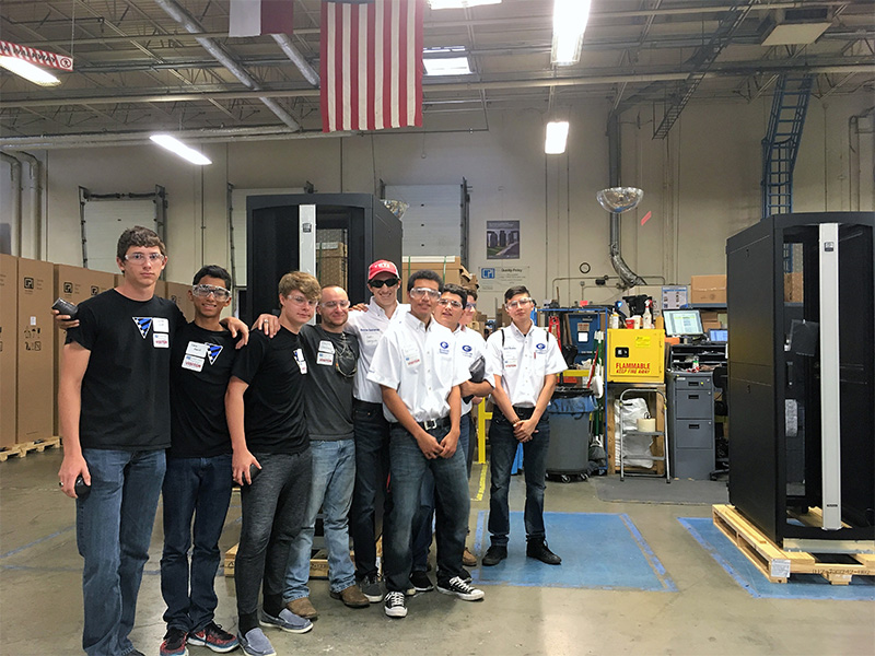High Schools Visit CPI on Manufacturing Day