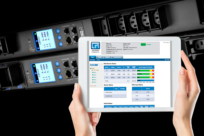 eConnect® Intelligent PDU and DCIM Software