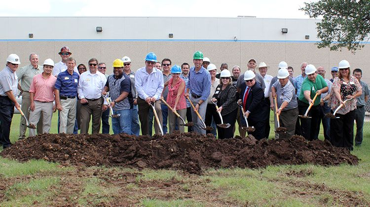 Georgetown Facility Breaks Ground