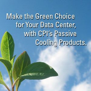 CPI Passive Cooling is the Green Choice for Data Centers