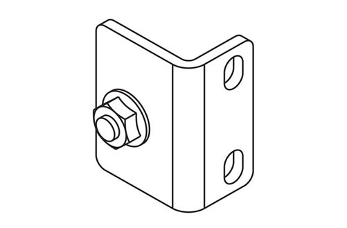 Vertical Power Strip Bracket Image