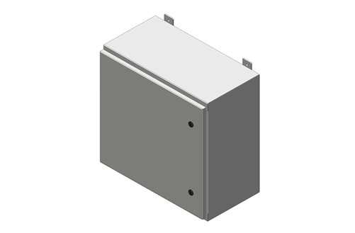 RMR Standard Wall-Mount Enclosure, Type 4 and 12 with Single Door Image