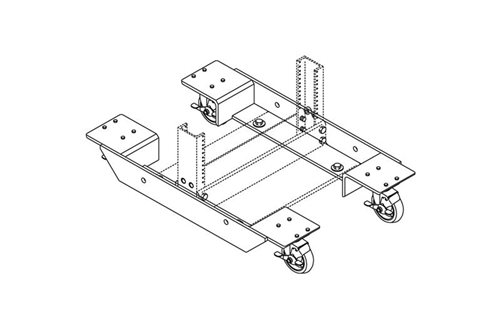 Rack Universal Dolly Wheels Image