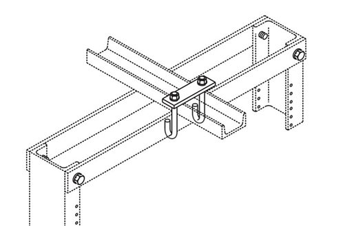 J-Bolt Kit Auxiliary Framing Channel/Rack Top Angle Image