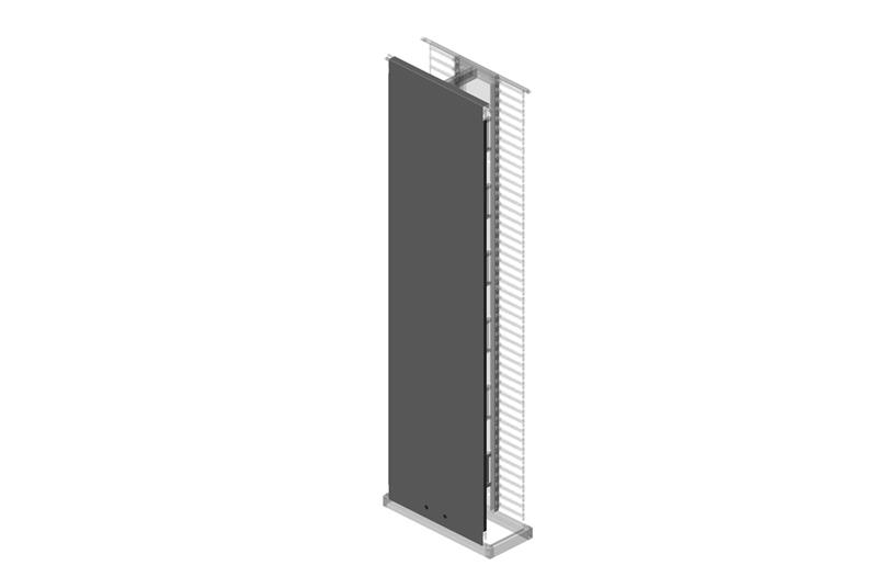 Solid Side Panel for Evolution® Vertical Cable Manager Image