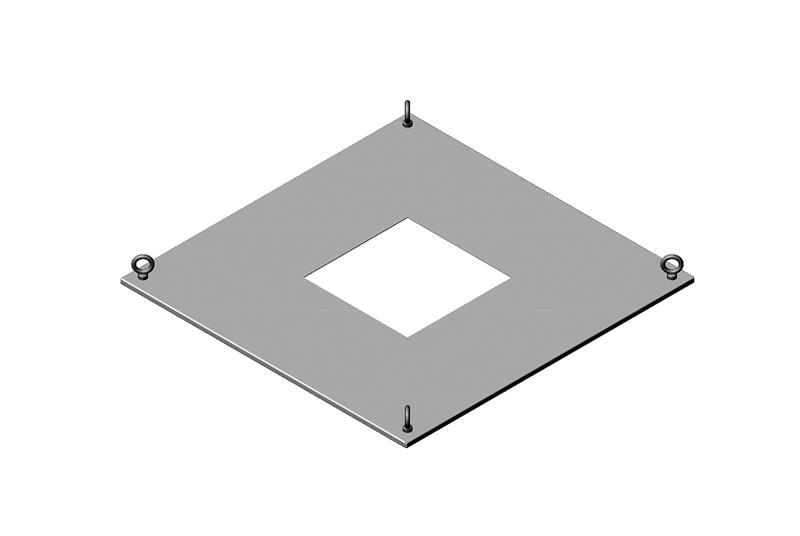 Exhaust Top Panel Assembly for RMR Modular Enclosure Image