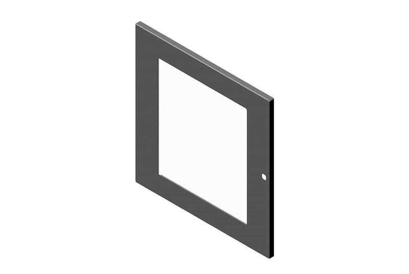 Single Tempered Glass Door for RMR Wall-Mount Enclosure Image