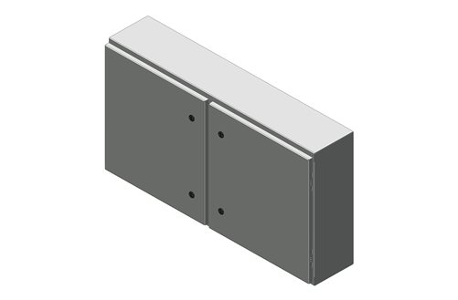 RMR Standard Wall-Mount Enclosure, Type 4 with Solid Double Door Image