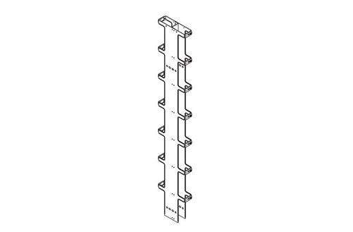 Double-Sided Narrow Vertical Cabling Section Image