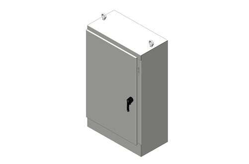 RMR Free-Standing Disconnect Enclosure, Type 4, with Solid Single Door Image