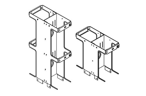 Double-Sided Vertical Cabling Section Extensions Image