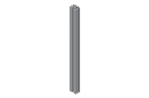 Panel Support Extrusion from Full Height Cabinet Blanking Panel Image
