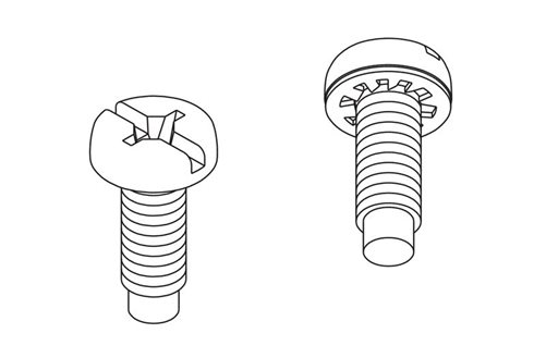 Sems Mounting Screws Image