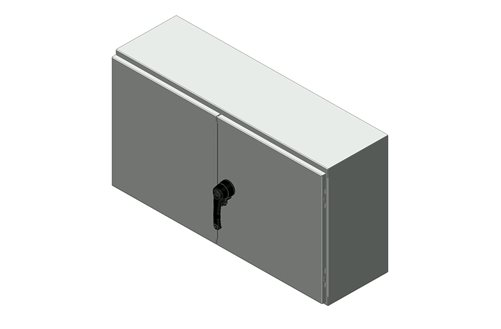 RMR Standard Wall-Mount Enclosure, Type 12 with Solid Double Door Image