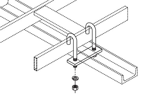 J-Bolt Kit Auxiliary Framing Channel/Runway Image