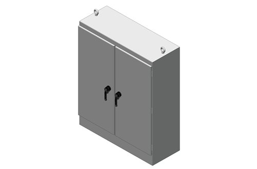 RMR Free-Standing Enclosure, Type 4, with Solid Double Door Image