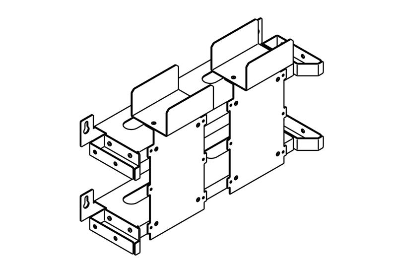 110D Block Mounting Brackets Image