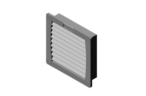 RMR Wall-Mount Enclosure IP55/Type 12 Intake Filter/Fan Kit Image