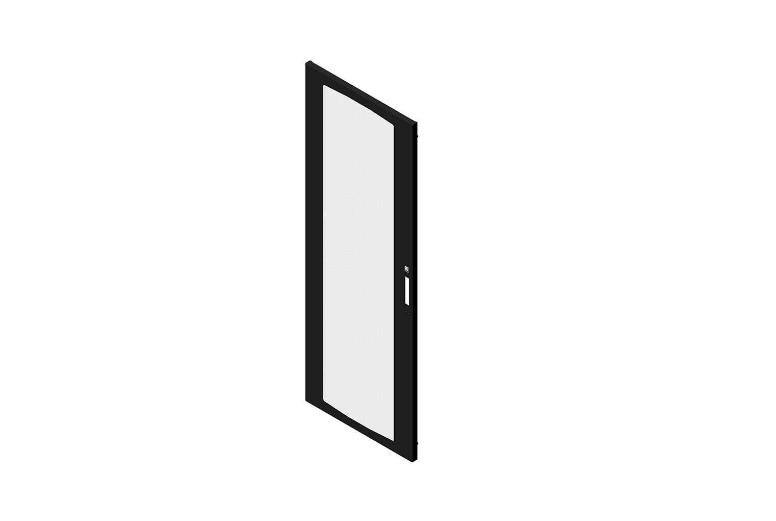 Front Door Assembly for CUBE-iT Wall-Mount Floor-Supported Cabinet Image