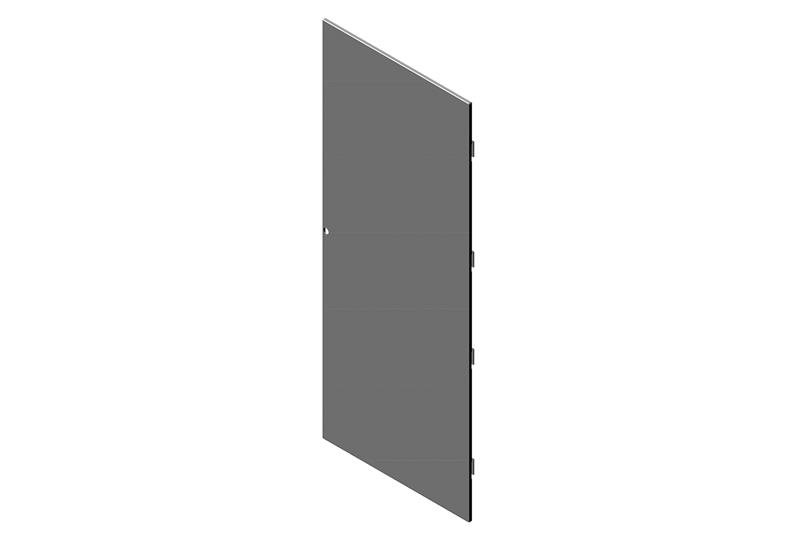 Single Solid Metal Door for RMR Modular Enclosure Image