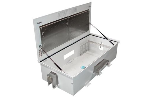 Ceiling Enclosure for Wiring Blocks Image