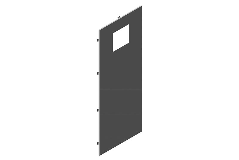 Exhaust Side Panel Assembly for RMR Modular Enclosure Image