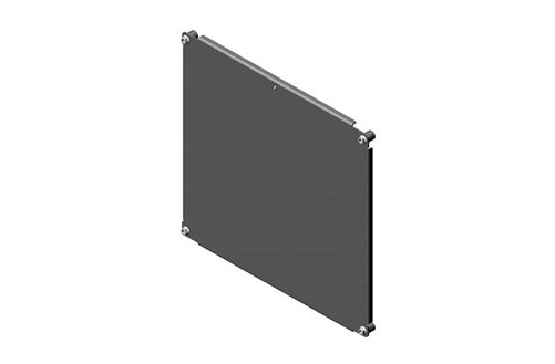 RMR Wall-Mount Enclosure Fixed Depth Mounting Plate Image