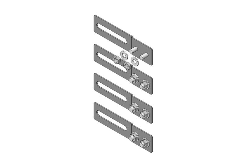 Vertical Cabling Section Offset Mounting Bracket Kit Image