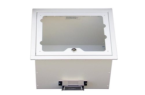 Ceiling-Mounted Wireless Access Point Enclosures Without Faceplates Image