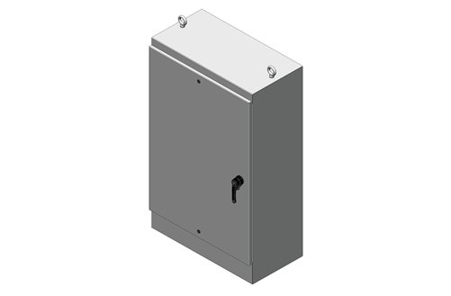 RMR Free-Standing Enclosure, Type 4 and 12, with Solid Single Door Image