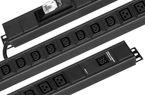 Basic Vertical Mount Power Strips Image