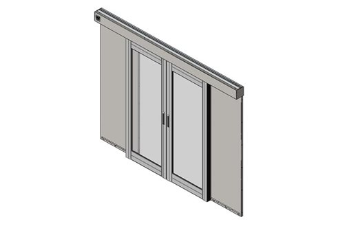 Aisle Containment Door Assembly Image