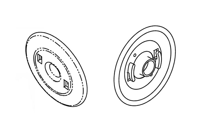 Adapter Flange for Cable Distribution Spools Image