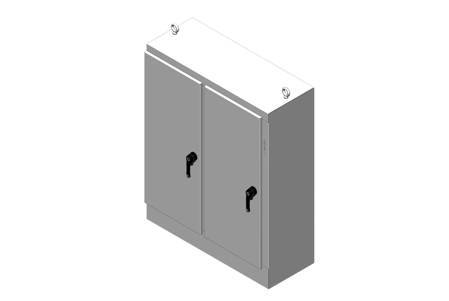 RMR Free-Standing Disconnect Enclosure, Type 4, with Solid Double Door Image