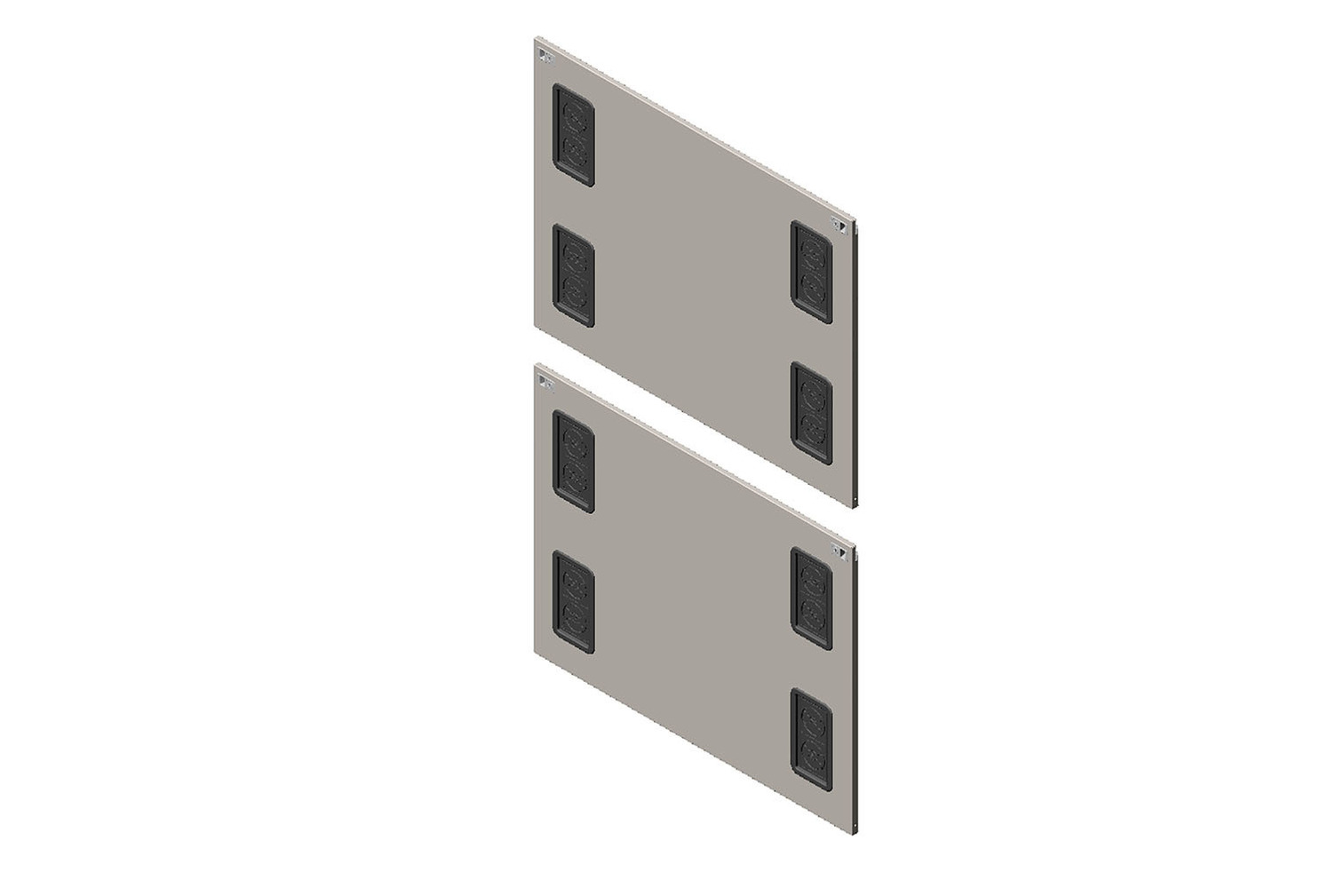 Side Panel with Grommets for ZetaFrame™ Cabinet Image