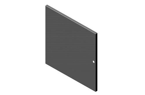 Single Solid Metal Door for RMR Wall-Mount Enclosure Image