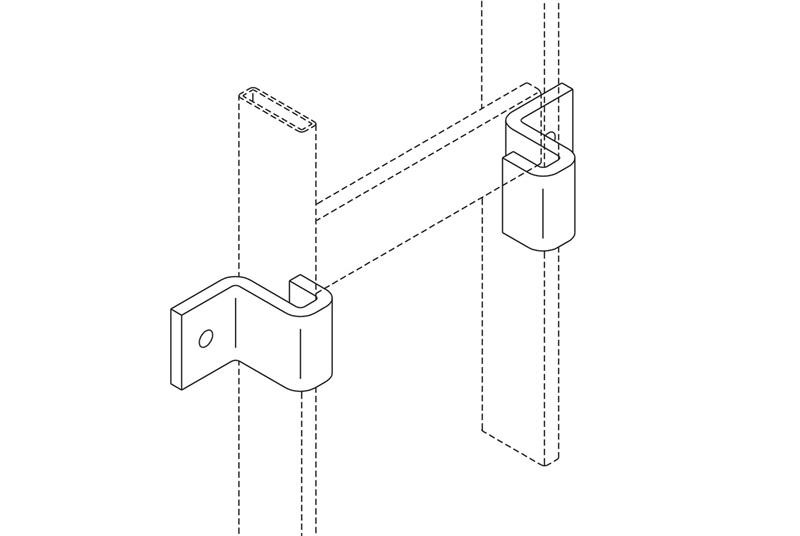 Vertical Wall Brackets Image
