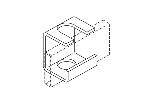 Slotted Support Bracket Image
