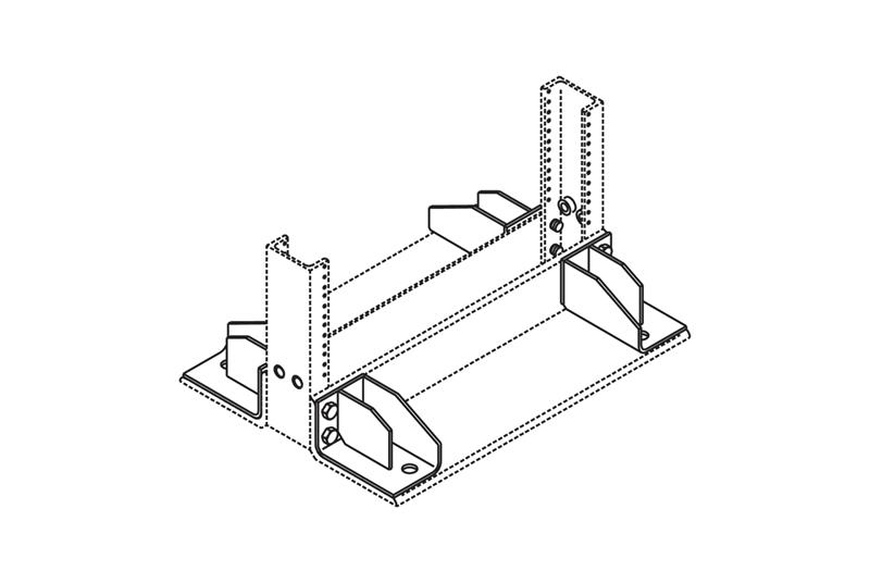 Rack Seismic Gusset Kit Image