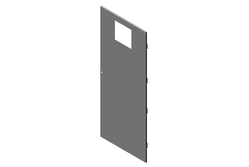 Exhaust Door Assembly for RMR Modular Enclosure Image